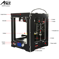 Anet A3S 3d Printer Full Metal Frame Large Size Modular Design High Precision FDM Desktop Diy Kit With SD Card for Gift
