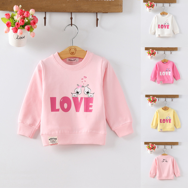 Kids Baby Boys Girls Hoodie Clothes Clothing Infant Sweatshirts 4