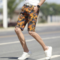 2019 Causal Beach Shorts Men Print Loose Camouflage Board Shorts Men Breathable Board Shorts 4 Colors