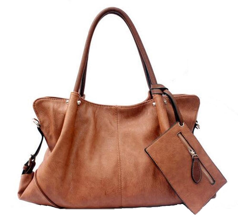 Luxury Handbags Vintage Shoulder Bags for Women 2017 Elegant Ladies Retro Tote Bag Female Large Handbag Green Pink Black A031