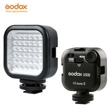 Светодиодный светильник Godox для камеры 5500 6500K, светодиодный светильник ing SLR, светодиодный светильник 36 для наружного освещения, для цифровой зеркальной камеры, видеокамеры, мини видеорегистратора
