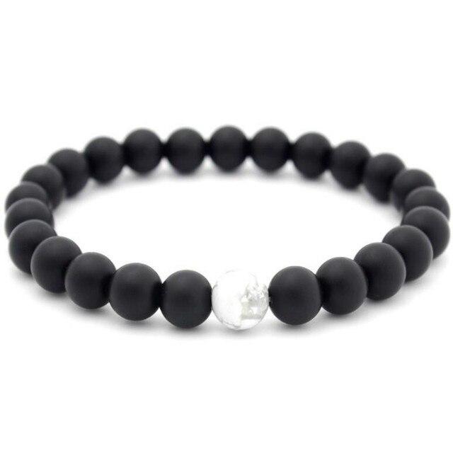 Bracelet Pierre De Lune Noire
