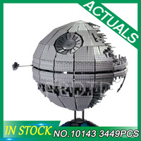 StarWars Children Gifts Death The second generation Star 10143 3449Pcs legoING Building Block Bricks Toys Compatible with WARS