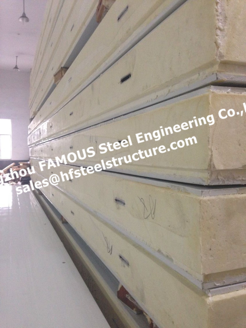 Insulation Polyurethane Sandwich Panels For Cold Rooms