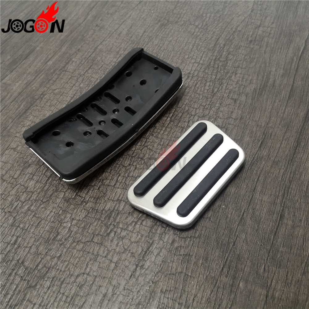 Accelerator Fuel Brake Foot Pedal Pad Cover For Ford Mustang 2015-2019 Accessory
