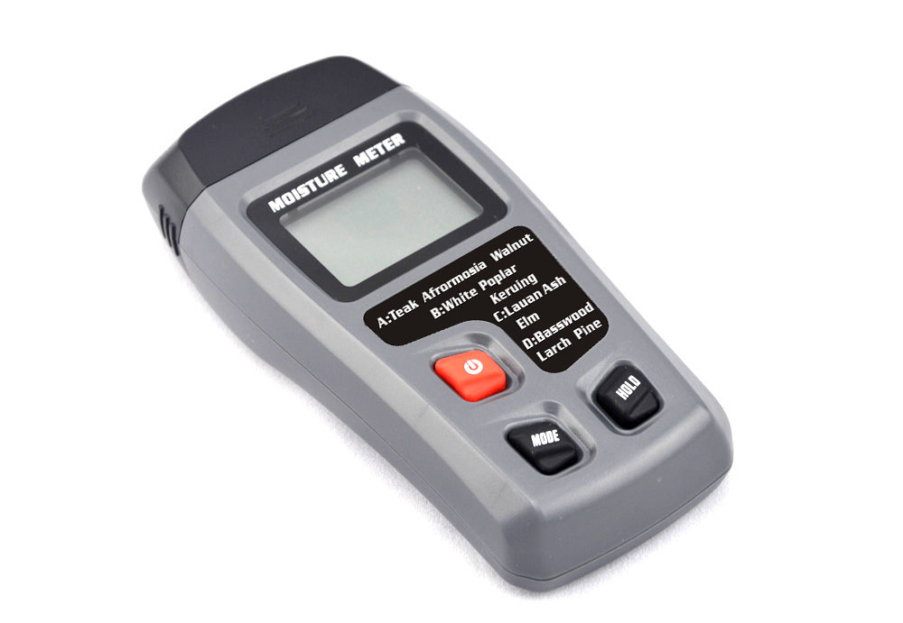 Hygrometer Tester Sensor MT10 Digital LCD Wood Moisture Meter Wood Damp Detector