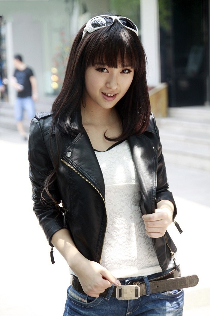 2018 New Arrial Women Autumn Winter   Suede   Faux   Leather   Coat Lady Fashion Motorcycle Jacket Zippers Biker Outwear
