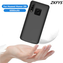 6000mAh Portable Ultra Thin Fast Charger Battery Case For Huawei Honor 20i High Quality External Shockproof Power Bank Case