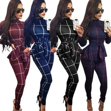 ZOGAA 2019 Spring Women Bodysuit Long Sleeve Rompers Sexy Bo