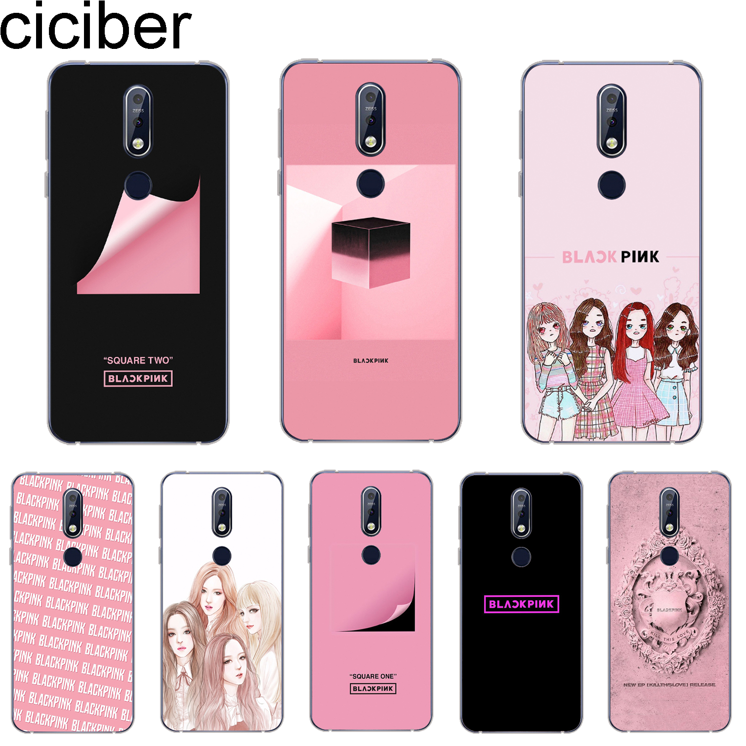 Cellphones & Telecommunications Ciciber Cover For Nokia 8 8.1 7 7.1 6 6.1 5 5.1 3 3.1 2 2.1 Plus 9 Pureview Phone Cases For Nokia X7 X6 X5 X3 Soft Tpu Blackpink Regular Tea Drinking Improves Your Health