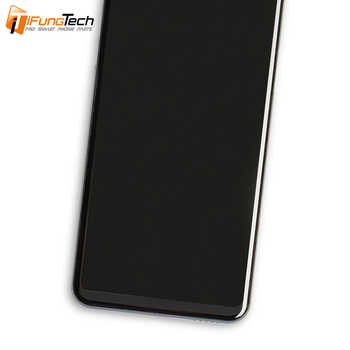 100% Tested 6.0'' For LG V35 ThinQ LCD Display Touch Screen Digitizer Assembly With Frame For LG V30+ V30 Plus LCD Free Shipping