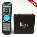 S912 KM8 PRO Amlogic Android 6.0 Caixa de TV Núcleo octa 2 GB 8 GB 2.4G/5G WiFi KODI 17.0 IPTV Europa Media Box Smart TV Playe