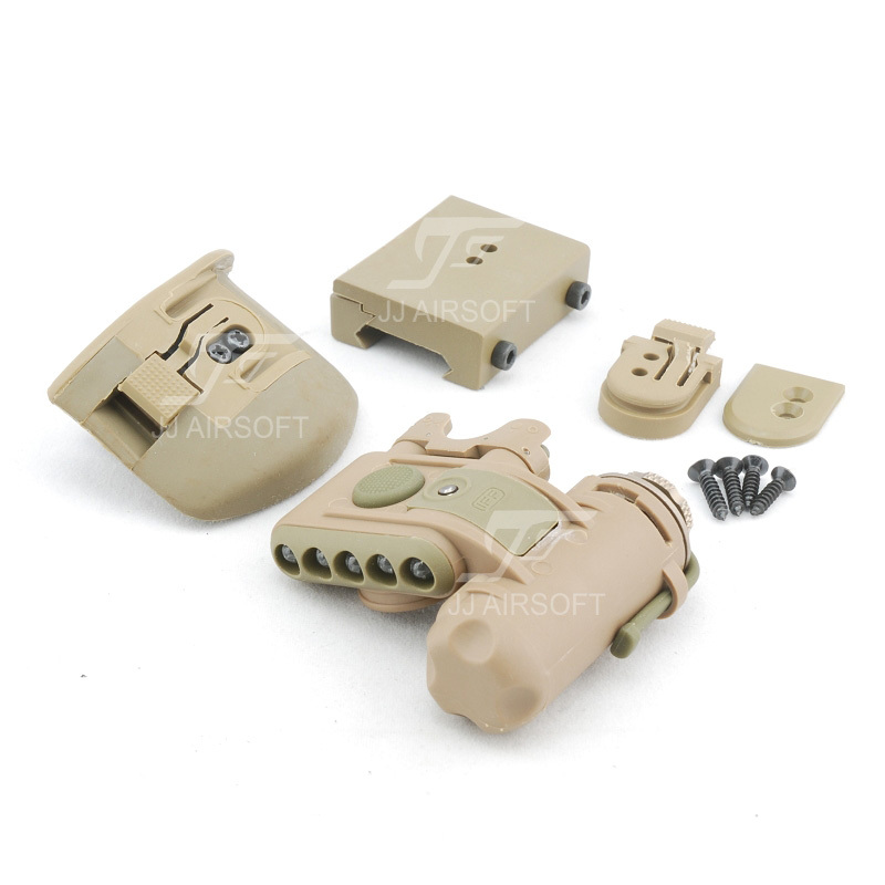 Element SF Helmet Light Set GEN 2 (Tan) FREE SHIPPING (ePacket/HongKong Post Air Mail)