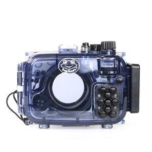 Image 5 - Pour Sony RX100 II 2 Mark II boîtier de boîtier de caméra sous marine 40m Photogeraphy sac de caméra étanche adapté pour le surf