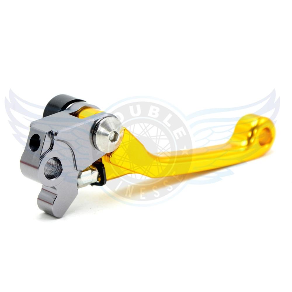 ФОТО motorcycle accessories Pivot Brake Clutch Levers cnc brake clutch lever For HONDA CR125R/250R CRF 125R 250 R 1992-2003