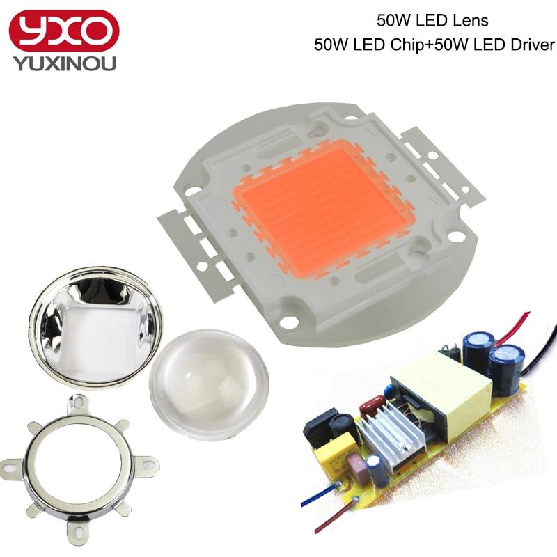 led grow light kit diy cob full spectrum grow light 50w. Black Bedroom Furniture Sets. Home Design Ideas