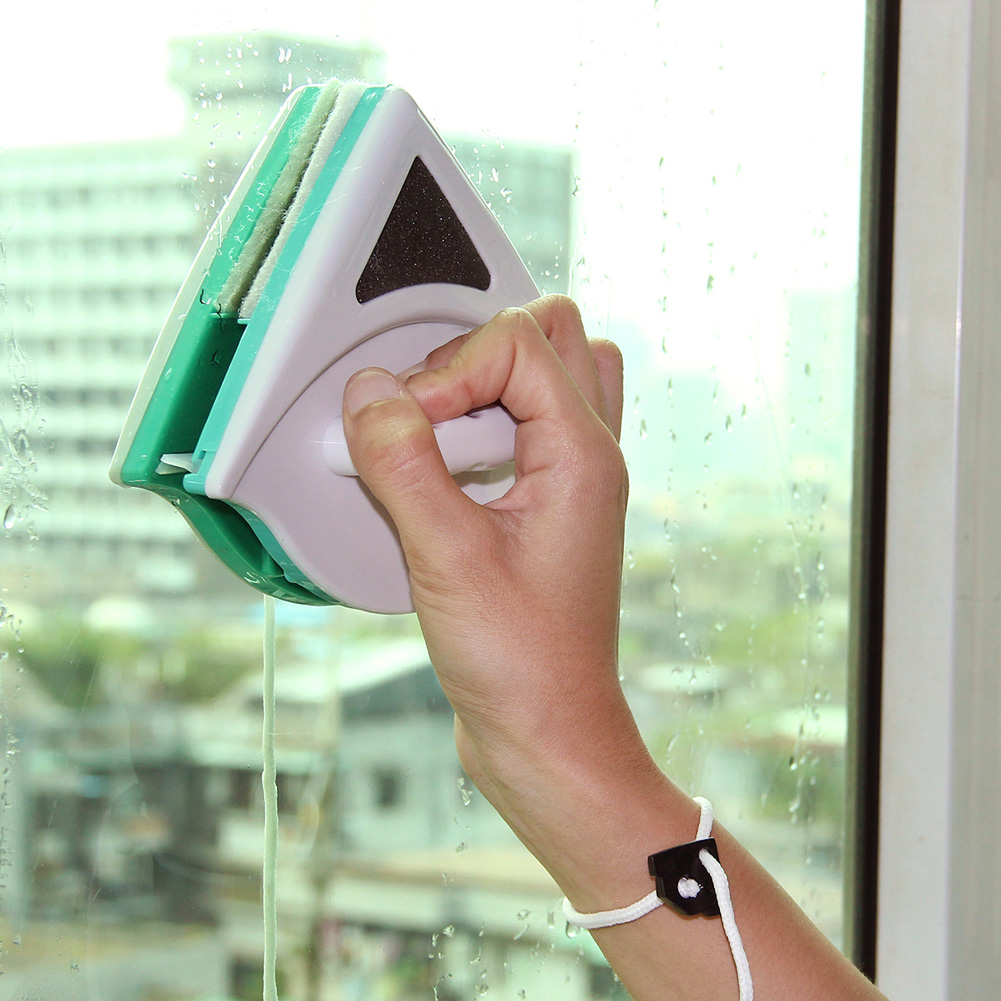 5-12mm Glas Cleaner Tool Double Side Magnetic Fensterreiniger Reinigungsbürste Staub Wischer Nützlich Oberfläche pinsel