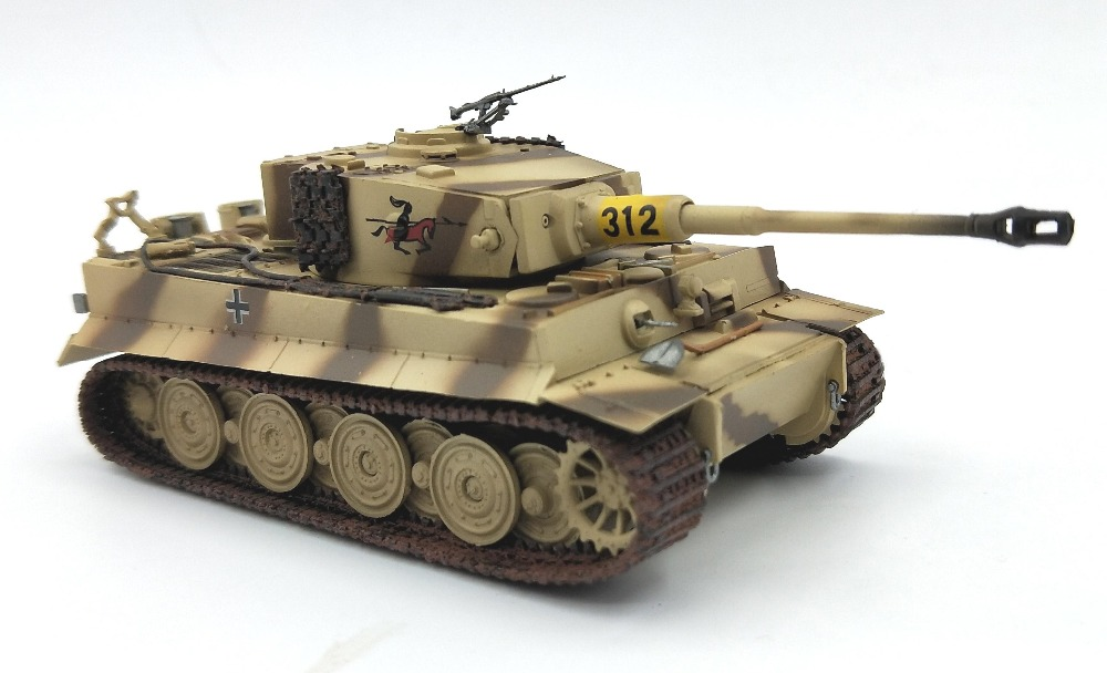 1:72  German Tiger Tank Late Type  Trumpeter Finished Product Model 36220  Collection Model