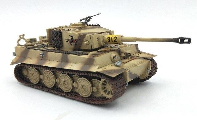 1: 72 alman kaplan tankı geç tipi trompetçi bitmiş ürün modeli 36220 koleksiyon model