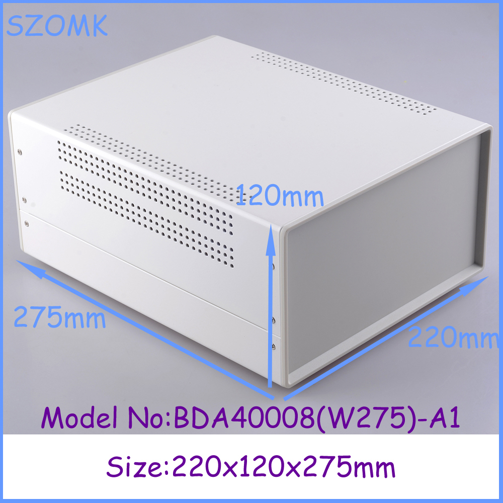 (1pcs)220x120x275mm enclosures for electronics distribution box 2014 new electronics project box electrical box 1 piece free shipping box for electrical distribution box box plastic enclosures case 268x198x102 mm