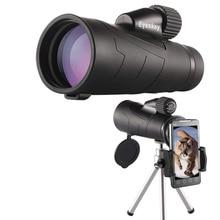 12x50 Monocular Eyeskey Optics Waterproof Monocular Quality for Hunting Telescope High Power Monocular with BaK4 Prism Optics