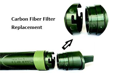 Cleaning Personal Water Filter Straw