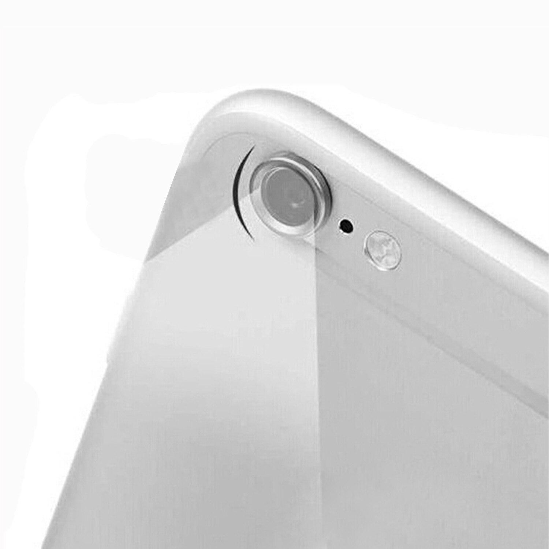 Besegad Logam Kamera Belakang Cincin Guard Lingkaran Penutup Lensa Pelindung Bumper Case untuk Apple Iphone X
