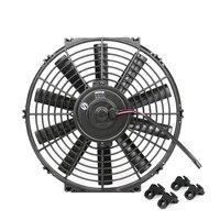 Car air conditioning electronic fan 12 inch condenser fan DIY engine radiator cooling fan Y