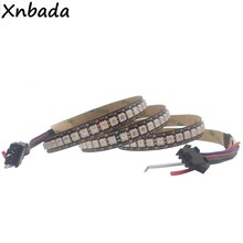 Bande Led RGB adressable IC, 1m/2m/3m/4m/5m, GS8208 8208 5050SMD PCB noir/blanc 30/60/144 Pixels/Leds/m IP30/IP65/IP67 DC12V