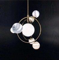 Simple Clothing Store Dream Planet Living Room Italian Design Bed Multi headed Bedroom Light Luxury Chandelier