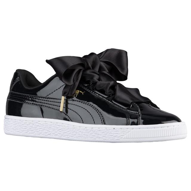2019 New Arrival Original PUMA Basket Heart Patent Women's Sneakers Suede Satin