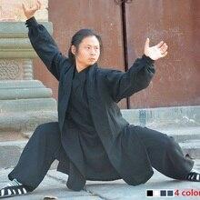 Wudang Taoist tai chi одежда шаолин буддизм кунг-фу упражнения Обучение монах костюм Одежда для боевых искусств мантии костюм 4 цвета