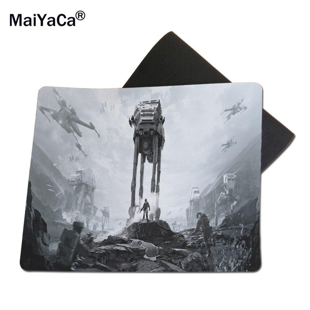 Maiyaca Star Wars Battlefront пользовательские Дизайн Прохладный игровой коврик резиновый коврики 18*22 см и 25*29 см