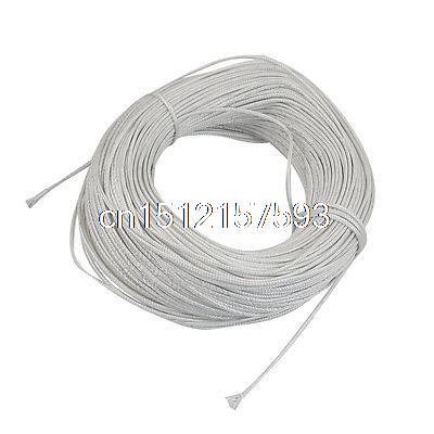100 Метров Белый Пластиковый Плетеный Термопары Расширение Провода