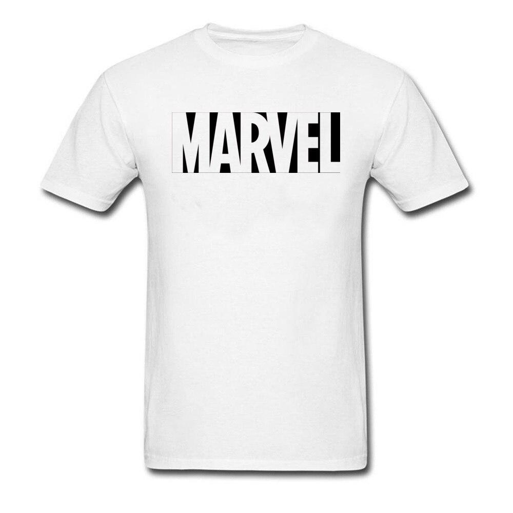Lasting Charm Designer Marvel Black White T Shirt For Men