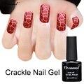 Vrenmol 1pcs Crackle Shatter Gel Nails Polish Professional Cracking Nail Varnish 12 Colorful Crack UV Nail Lacquer