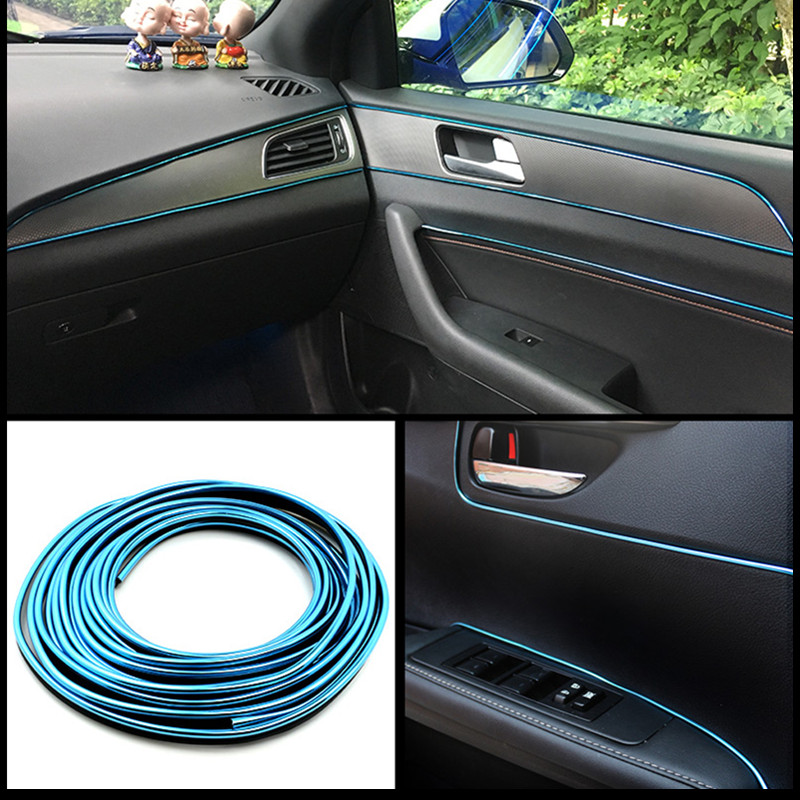 Image 5 - 3M 5M Car Styling Interior Exterior Decoration Strips Stickers for Opel Mokka Corsa Astra G J H insignia Car Accessories-in Car Stickers from Automobiles & Motorcycles
