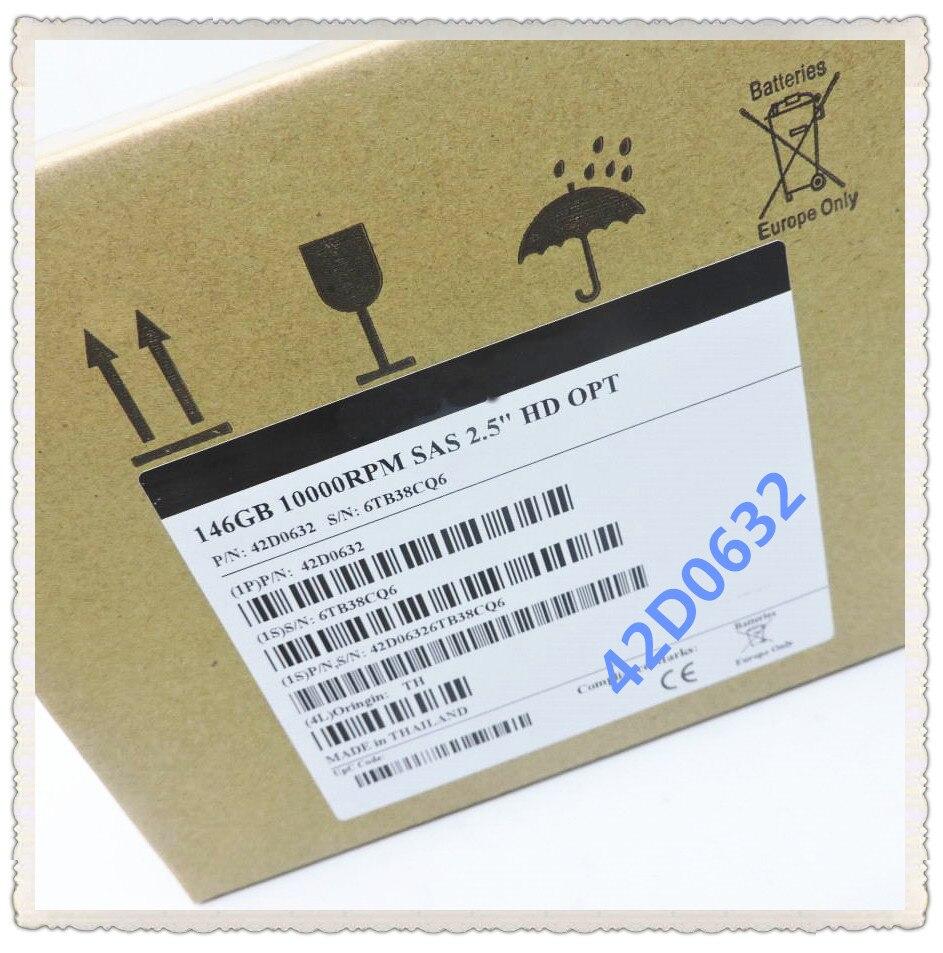 42D0632 42D0633 146G SAS 2.5 polegada HUC103014CSS600 10 K Garantir Novo na caixa original. Prometeu enviar em 24 horas