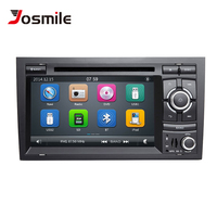 Josimle 2 Din AutoRadio Car DVD Multimedia Player For Audi A4 B6 B7 Seat Exeo S4 B7 B6 RS4 B7 2000 2012 GPS Navigation Stereo