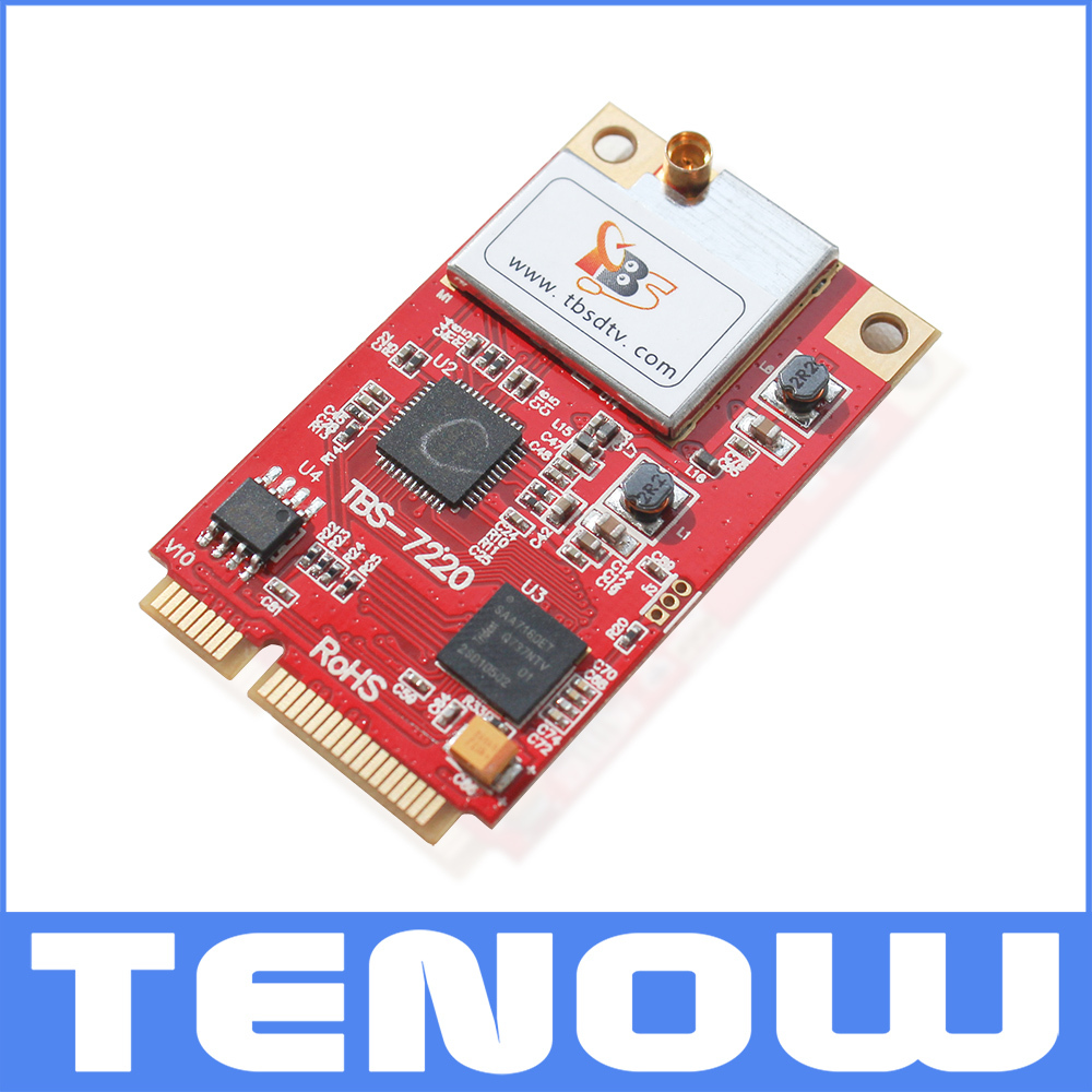 Prix pour TB7220 DVB-T2/T/C Tuner TV mini PCIe Carte, PCIe DVB-T2/T/C Tuner TV pour PC