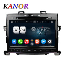 KANOR Android 6.0 Octa Core 2G+32G Car DVD Player For Toyota Alphard 2007-2013 With Video Radio GPS Satnavi Multimedia System