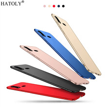 Cover Vivo Z5x Case Thin Hard PC Shell Bumper Funfas Protective Back Phone For for