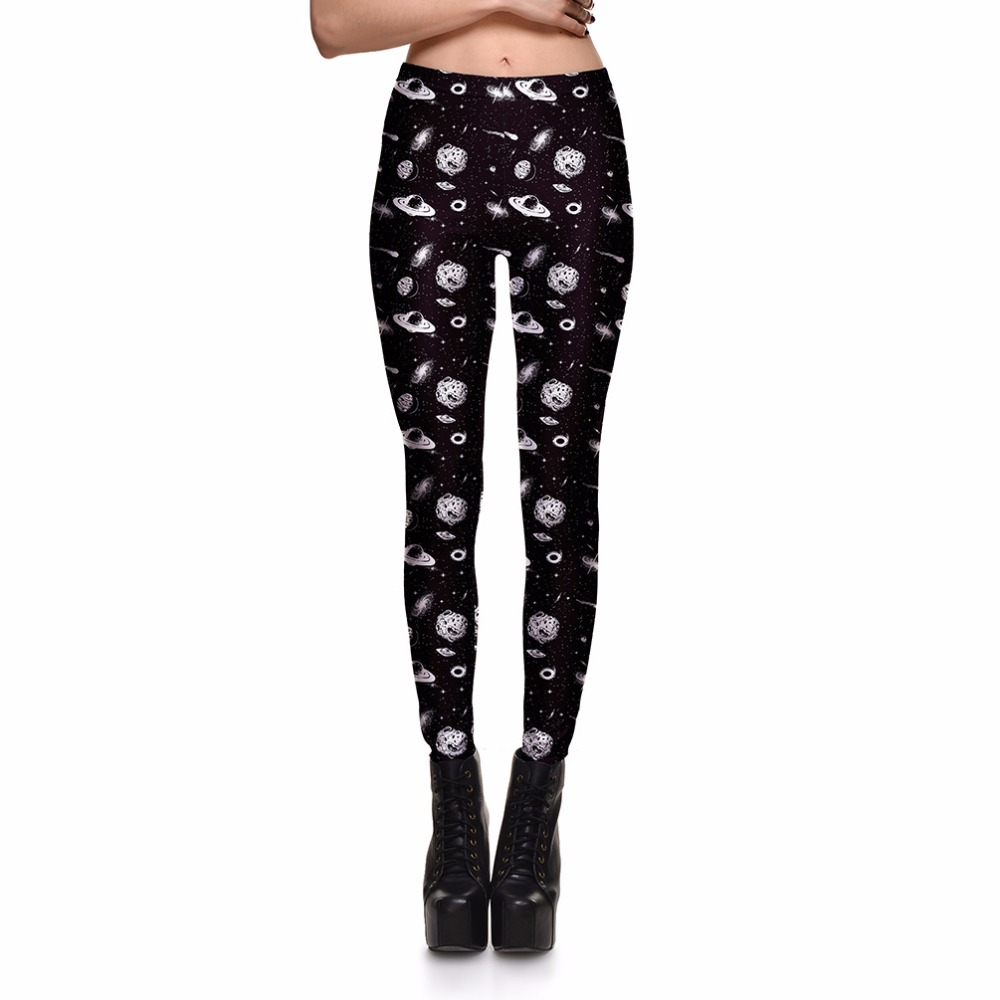 Leggings Fashion Women's Space Interplanetary Trajectory ...