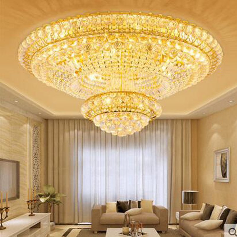 Cornucopia Living Room Lights Golden Round Crystal Light LED Ceiling Light Modern Bedroom Lighting LED ceiling lamp led lamps eiceo 2017 modern led ceiling lighting lamps lights modern light living room lamp free shipping cells absorb dome