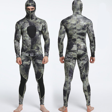 1.5 mm camo diving wetsuits free diving neoprene men scuba diving two piece 1.5 mm camo diving wetsuits free diving neoprene men scuba diving two piece