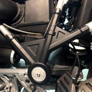 Image 2 - BMW R1200GS 2005   2012 / R1200 GS Adv 모험 2006   2013 R 1200 gs에 대 한 오토바이 사이드 프레임 패널 가드 보호기 커버