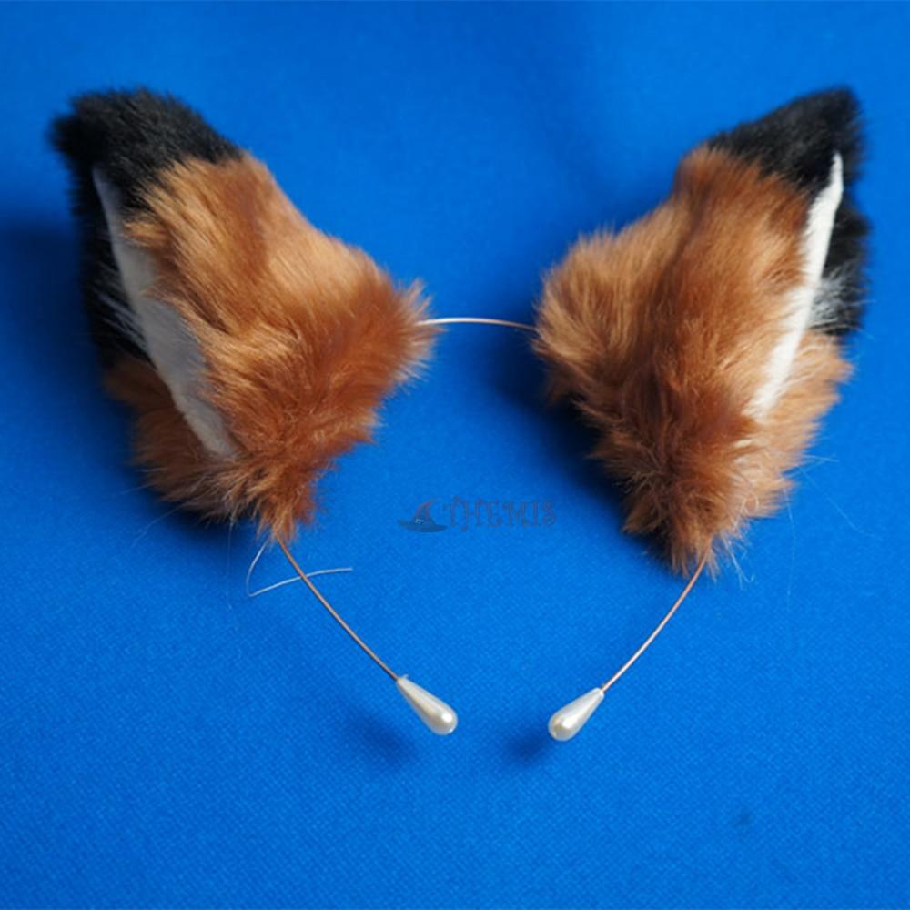 Athemis Zootopia Zootropolis Judy Hopps cosplay Handmade accessories   headwear   headband ears Hairpin tail