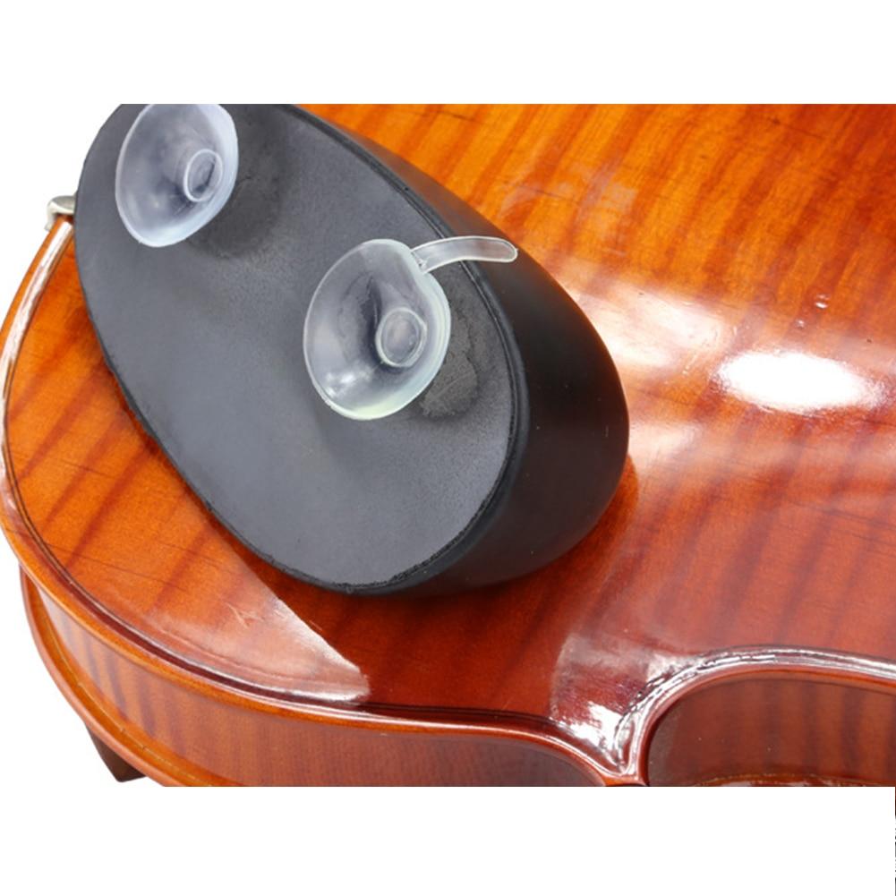 Acessórios Violino Ombro Resto Proteja TPU Macio Pad Descompressão Suor Absorvente Leve E Durável Com Otários 2 Fixo