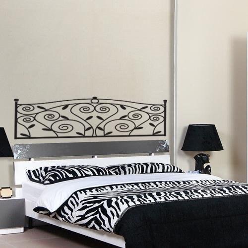 SDFC Sticker Mural Deco Tete De Lit En PVC Pr Maison Chambre