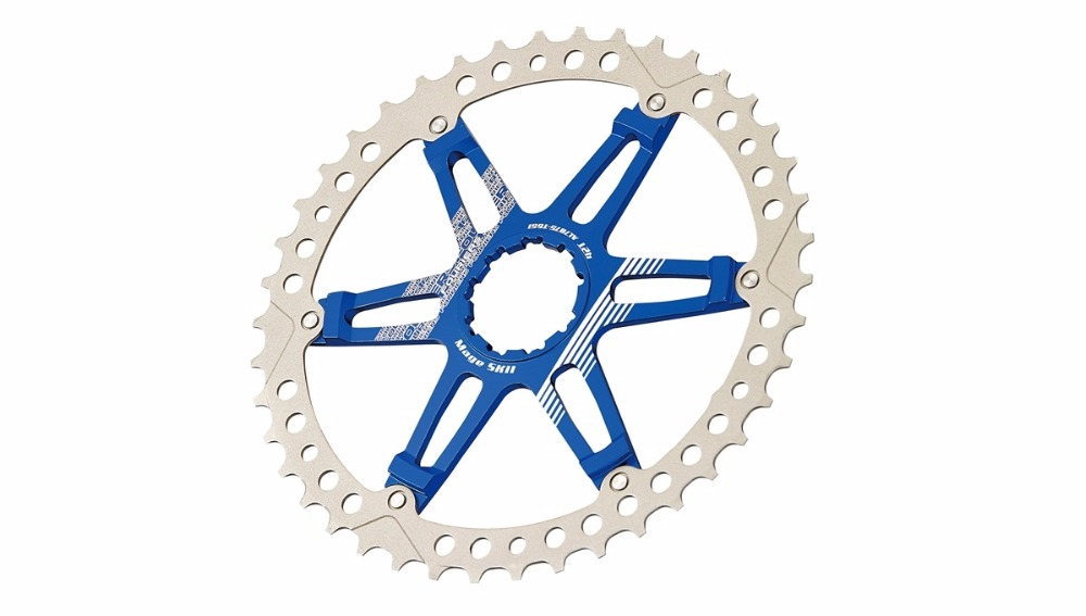FOURIERS CR-DX008-SK2 bike Sprocket heat treated Chainring Chain guard 40/42T for 10 speed bicycle cassettes: XT R, XT fouriers cr dx9000 ov oval bicycle chainrings for xt r m9000 m9020 11 speed mountain bike crank with crank cover caps page 8
